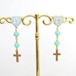 Rosary earring