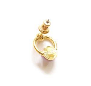 Vintage Heart Ring Earring